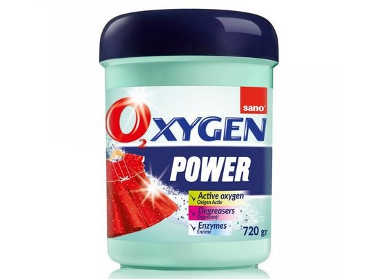 Пятновыводитель в виде порошка 2 в 1 Oxygen Power Sano 720 г, арт.351491 1